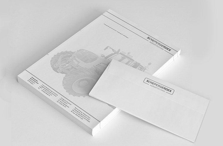 Corporate Design Briefpapier Logogestaltung